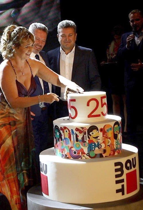 Firemní večírek - Slavnostní večer Baumit 25 let