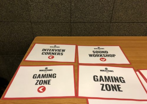 Wargaming 2018 - Gaming Zone