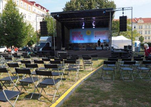 Fresh Senior Festival na Náměstí Jiřího z Poděbrad