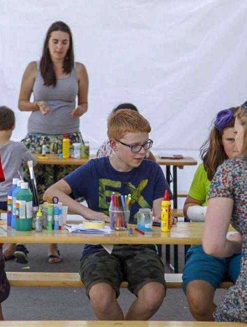 Kreativní dílny na Letní scéně Holešovice