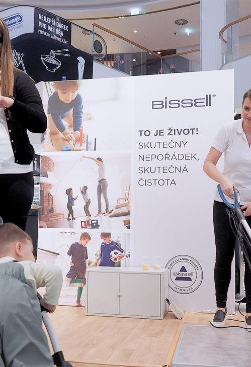 Špičkové vysavače americké rodinné firmy Bissel v akci...