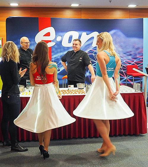 E.ON konference – Stylové hostesky