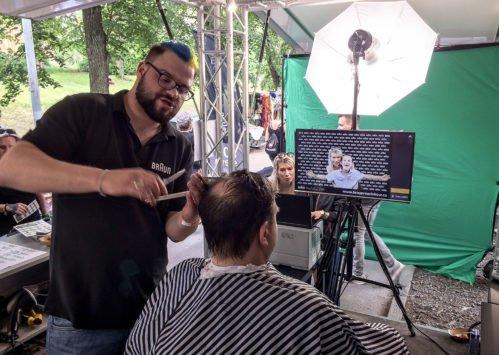BRAUN Roadshow 2019 - barber v akci