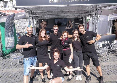 BRAUN Roadshow 2019 - skvělý BRAUN tým